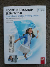Adobe Photoshop Elements 8 Mac OS with Manual and Serial Number