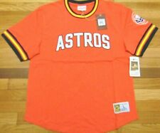 MITCHELL & NESS MLB COOPERSTOWN COLLECTION HOUSTON ASTROS WILD PITCH TOP SIZE L