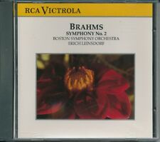 Brahms Symphony 2 Op 73 Boston Symphony Orchestra CD music album excellent condi
