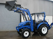 New FULL SPEC LAND LEGEND 40HP COMPACT TRACTOR with 4in1 Loader & CAB £10490+vat