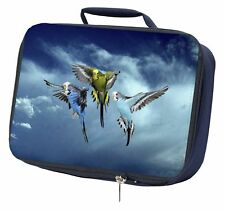 More details for budgies in flight navy insulated school lunch box bag, ab-96lbn