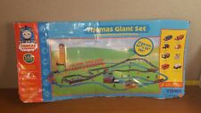 "Thomas The Train Giant Set  Motorized Road Rail System 84""x53"""