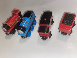 Thomas & Friends Wooden Railway Lot Engine Thomas Skarloey Caboose James Tender