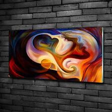 Glas-Bild Wandbilder Druck auf Glas 100x50 Deko Kunst Abstrakt