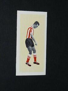 FOOTBALL FLEETWAY TIGER CARD 1963 #49 MEL SCOTT BRENTFORD FC BEES ENGLAND