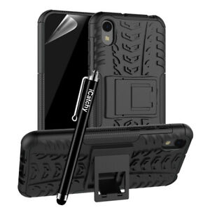 Honor 8S Case HeavyDuty Tough Rugged Shockproof Hybrid Kickstand Hard Back Cover