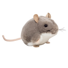 New listing Teddy Hermann Grey Mouse - washable plush soft toy rodent - 9cm - 92657