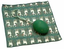 Holiday Christmas Theme Cleaning Cloth The Egg Green /Rudolph Red Nosed Reindeer