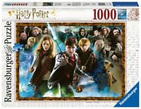 PUZZLE HARRY POTTER 1000 PIEZAS // RAVENSBURGER 15170 // RAVENSBURGER 15171
