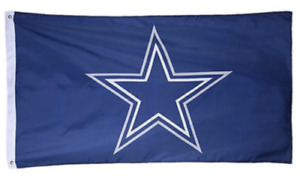 Dallas Cowboys Flag Double Sided Indoor Outdoor Texas Star 3 x 5 Feet NEW
