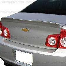 Spoiler UNPAINTED Wing No Drill 3M Tape Install For: CHEVY MALIBU 2008-2012