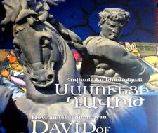 DAVID of SASSOUN ՍԱՍՈՒՆՑԻ ԴԱՎԻԹ Sasuntsi Davit ARMENIAN & ENGLISH Tumanyan Sasun