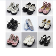 1 pair 1/4 BJD pu leather doll shoes for Little 16 inches Sharon doll clothing
