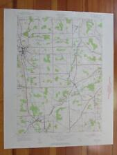 Groton New York 1956 Original Vintage USGS Topo Map