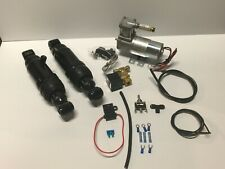 HARLEY AIR RIDE KIT FOR BAGGER AND TOURING 1994-2019..WITH COMPRESSOR MOUNT