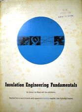 Electrical Electronic Equipment Insulation Fundamentals ASBESTOS Material 1958
