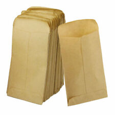 100 Pcs Kraft Paper Cookie Candy Package Gift Bags Cellophane Party Nice Fashion