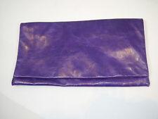 HALLHUBER ACCESSOIRES Da.Maxi-Clutch Handtasche violett Vintage WIE NEU