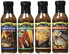 Walden Farms Honey / Original / Hickory Smoked / Thick & Spicy Barbecue Sauce