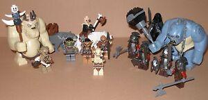 """Lego Herr der Ringe / Der Hobbit - Auswahl Minifiguren - """"Uruk Hai , Orks etc."""""""
