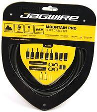 Jagwire Mountain Pro / Ripcord MTB Shift Cable/Derailleur Kit SRAM/Shimano BLACK