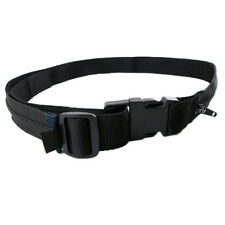 Apparel Accessories Secret Travel Waist Money Belt Hidden Security Safe Pouch Ticket Belt New High Quality Simple Black Color Belt New Varieties Are Introduced One After Another