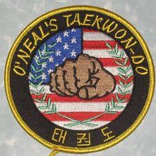 O'Neal's Taekwon-do Patch