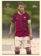 DANIELLE DE ROSSI 15-16 TOPPS UEFA CHAMPIONS LEAGUE SHOWCASE GREEN PARALLEL /99