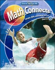 Math Connects Course 2 Concepts Skills and Problems Solving by Mcgraw-Hill