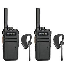 Retevis RB637 Bluetooth-Headset-Walkie-Talkie Drahtloses PMR446-lizenzfreies