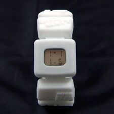 New Miss Sixty Holiday Digital Watch for Girl, Silicon Rubber Bracelet, White