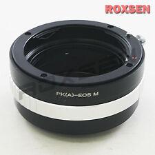 Pentax K P/k da Af un lente para Canon Eos M M2 Ef-m montaje Sin Espejo Adaptador de cámara