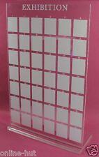 1 x Präsentationsdisplay Rechteckig für 42 Tips Klar, Nailart, Nail,  Nr. PD-01