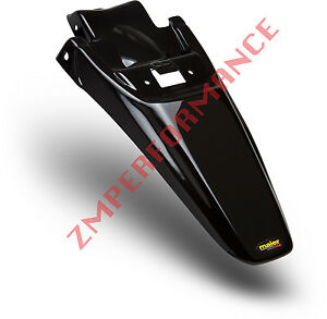 NEW HONDA 03 - 14 CRF 150F BLACK PLASTIC REAR MOTORCYCLE FENDER CRF150F