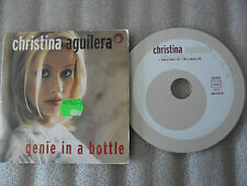 CD-CHRISTINA AGUILERA-GENIE IN A BOTTLE-WE'RE A MIRACLE_(CD SINGLE)-1999-2 TRACK