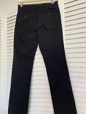 "GapKids Boys Adjustable Waist Size 16 Black ""Uniform"" Pants"