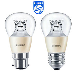 Philips Master LED Luster / Golf Ball Bulbs 6W =40W Warm White *DIMTONE* B22 E27