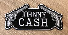 "JOHNNY CASH Embroidered Patch 2.25"" x 4.75"" Iron / Sew On Country Music"