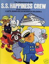 S.S. HAPPINESS CREW FIRST ADVENTURE-JUNE DUTTON-SIGNED- 1ST- GOOD CONDITION