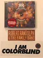 Colorblind by Robert Randolph & the Family Band (2006 WB PROMO w/STICKERS) LN