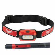 Milwaukee 2PC Alkaline Lighting Auto Kit Headlight & Penlight - MLW2106pen
