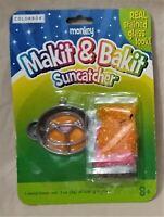 Makit & Bakit Window Suncatcher/Stained Glass Look Craft Kit--Monkey/Animal Face