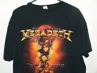 Megadeth Rust In Peace 20th Anniversary Concert Tour Graphic T-shirt Size L