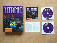TITANIC  PC WIN 95/3.1  deutsch   USK 16 #