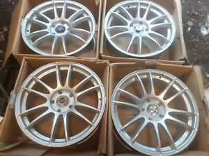 "4x 18"" Calibre Suzuka 5x114.3 TO FIT  Megan Civic Mazda Nissan alloy wheels"