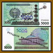 Uzbekistan 5000 Sum, 2013 P-83 Unc