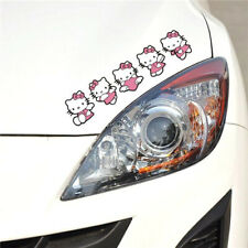 Hello Kitty Pink bow-knot Heart Angel Window Sticker Car Sticker QP202