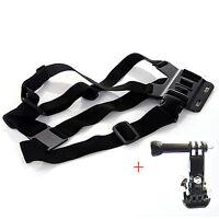 GoPro Adjustable Elastic Chest Mount Chesty Harness for HD Hero 4 2 3+ 3 Hero4