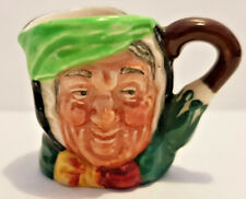 Miniature Royal Doulton Character/Toby Jug Sairey Gamp Old Mark D6146