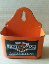 PORCELAIN  HARLEY DAVIDSON ADVERTISING  MATCH HOLDER OR  KEY HOLDER